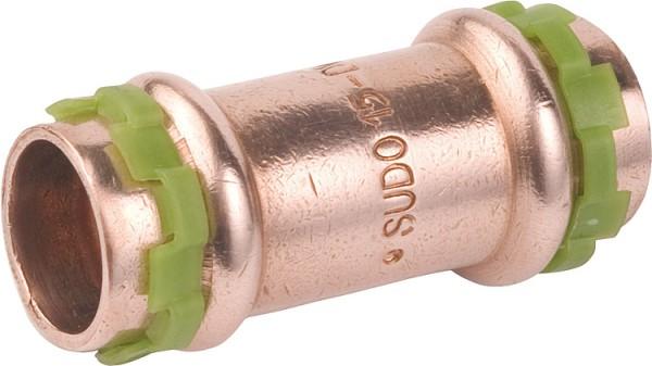Kupfer Pressfitting Muffe D:18mm Typ P5270
