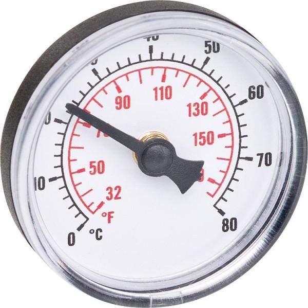 Thermometer 0-80°C passend für Durchgangskugelhahn 9004596 bis 99