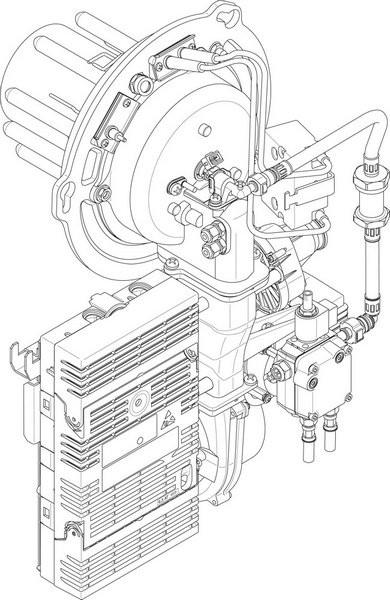 -Buderus Ölbrenner BM1.1 15kW everp 8738804043