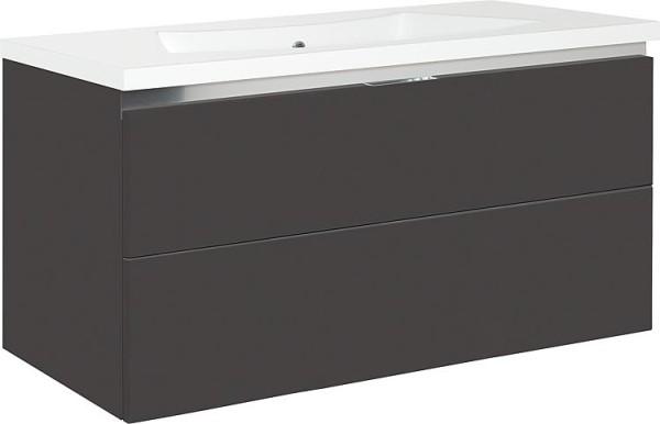 Badmöbel-Set EOLA weiß matt Breite 700mm 2 Türen