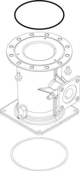 Buderus Venturi VMU 300 everp 8738805023