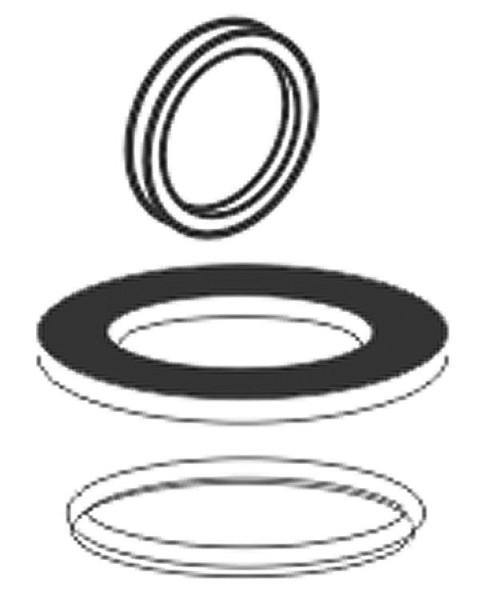 Dichtungset mit Inhalt: O-Ring, Lippendichtring,Ablaufdichtung