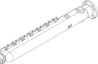 Buderus Vor- / Rücklaufrohr CLA-1 6Gld everp
