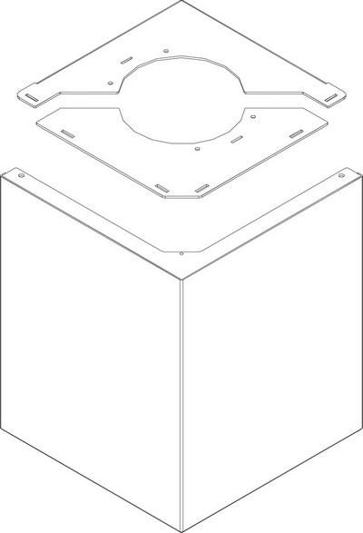 Buderus Frontblende oben schwarz Figura everp. 8738803761