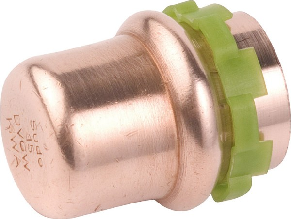 Kupfer Pressfitting Kappe D:22mm Typ P5301