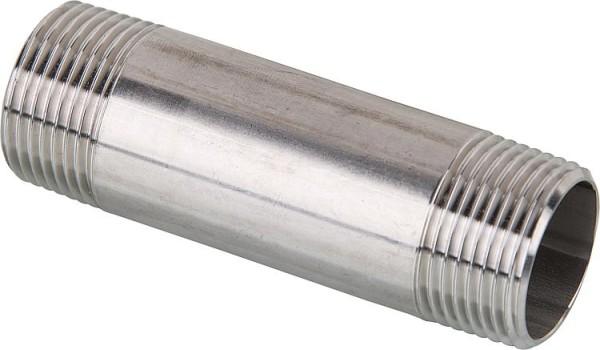 Edelstahl Pressfitting V-Kontur Muffe 18mm