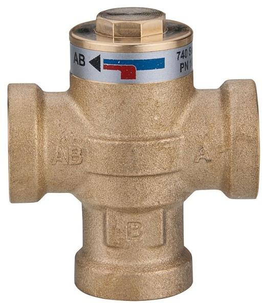 Ladeventil Easyflow Wood Typ 740, 55°C, DN25(1) IG