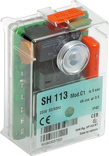 Elco Klöckner Relais Steuergerät SH213 Mod C3 ts=10s 13021223 13012689 150302061