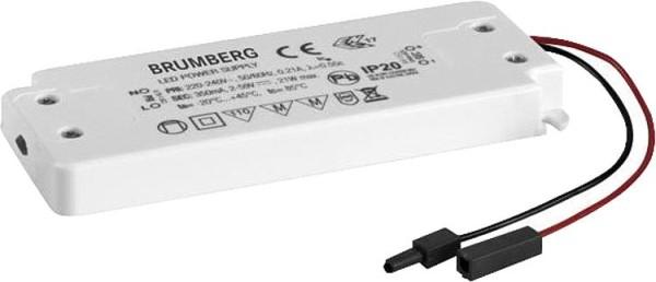 LED-Konverter Brumberg 1-21W, 350mAh, nicht dimmbar, LxBxH: 128x50x13mm