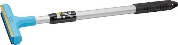 Eiskratzer mit Teleskopstiel und Messingklinge, Länge bis 60cm verschiedene Farb