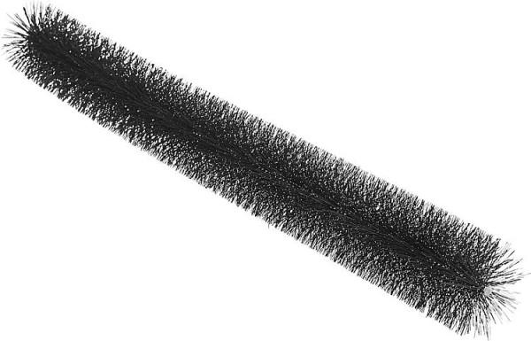Rinnenraupe DN 120 mm 1200 mm lang, schwarz