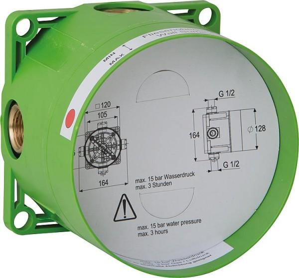 UP-Brausemischer Ideal Standard Ceraflex, Rosette d=163mm, verchromt