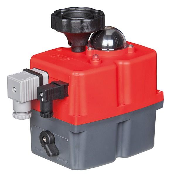 Effebi Elektro-Antrieb für Kugelhähne Typ EE0035, 24V / 230V