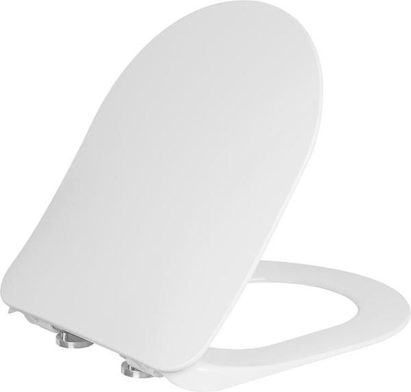 Evenes WC Sitz Elanda mit Softclose aus Duroplast, weiß