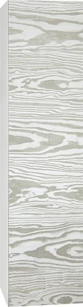 Rollcontainer ELA Korpus weiß smt - Front weiß smt 400x400x350mm