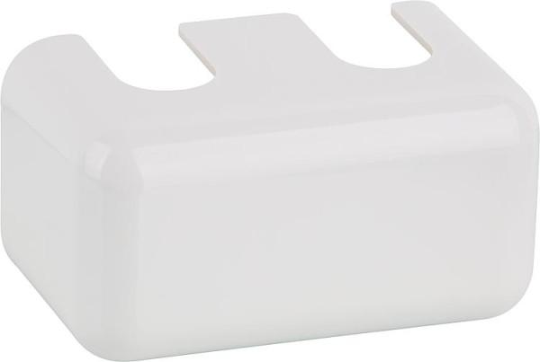 Verkleidung weiß für Hahnblock für Ventilheizkörper