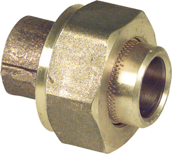 Rotgußlötfitting 4340 Verschraubung konisch dichtend 28 mm