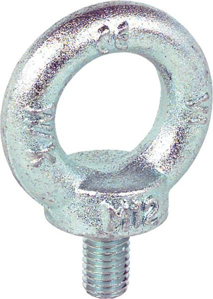 Ringschraube C15 M 6 / L=13 mm ähnlich DIN 580 / verzinkt