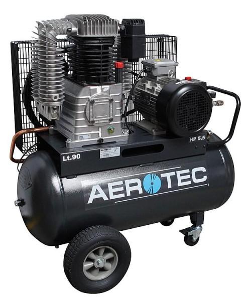 Kolbenkompressor AEROTEC 820-90 PRO 400Volt mit 10 bar und 90 Liter Kessel