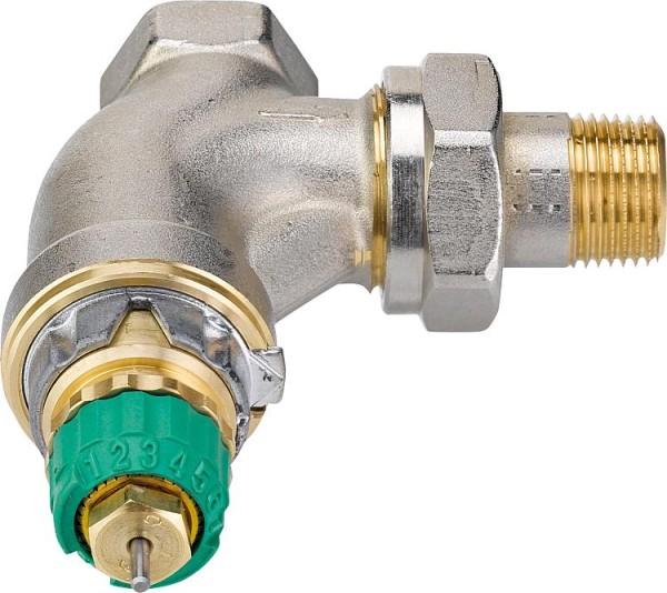 Thermostat-Ventilunterteil Danfoss Dynamic Valve RA-DV, DN10(3/8),Eck