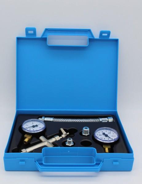 Pumpenprüfkoffer P 1 komplett Ölbrenner Heizung Ölpumpe Prüfkoffer Vakuum