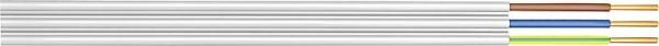 Stegleitung NYIF-J 3 x 1,5 qmm Rolle a 50 Meter