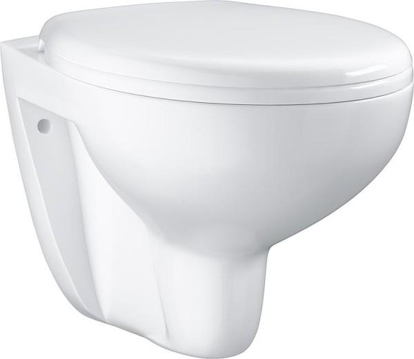 Wandtiefspül-WC Grohe Bau weiß, spülrandlos, BxTxH:368x531x363mm