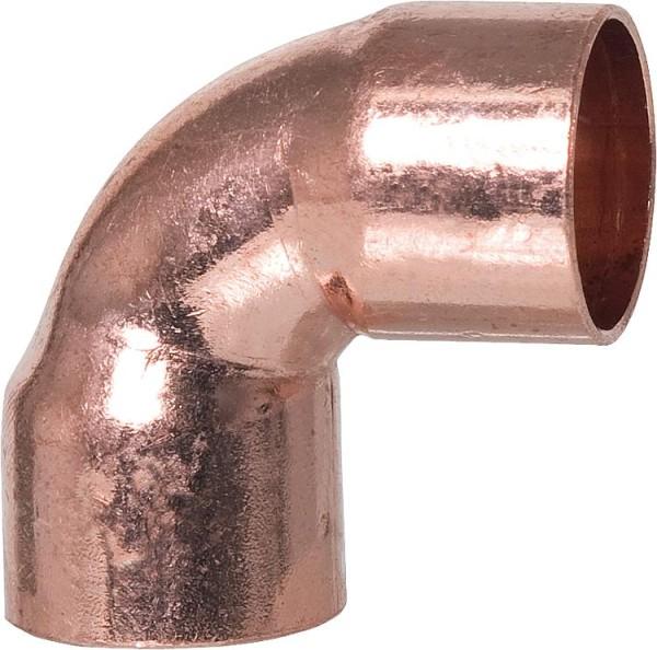 Kupferlötfitting 5090 Winkel 90° 22 mm Kupfer ixi innen innen