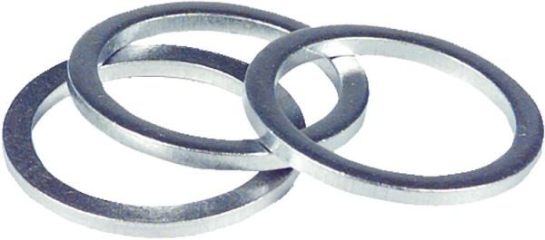 "Alu - Dichtring zöllig 1/4"" 1,5 mm stark 1 Stück für Anschlussnippel Ölpumpe"