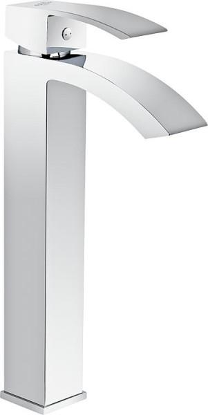Waschtischmischer Enver ohne Ablaufgarnitur verchromt Ausladung 128mm, Höhe: 31