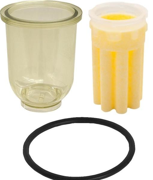 Filtertasse Filterglas Oventrop Heizölfilter + Dichtung Ölfilter Heizung Brenner