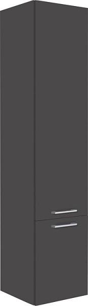 Badmöbel-Set ENNA Serie MAB anthrazit matt Breite 600mm