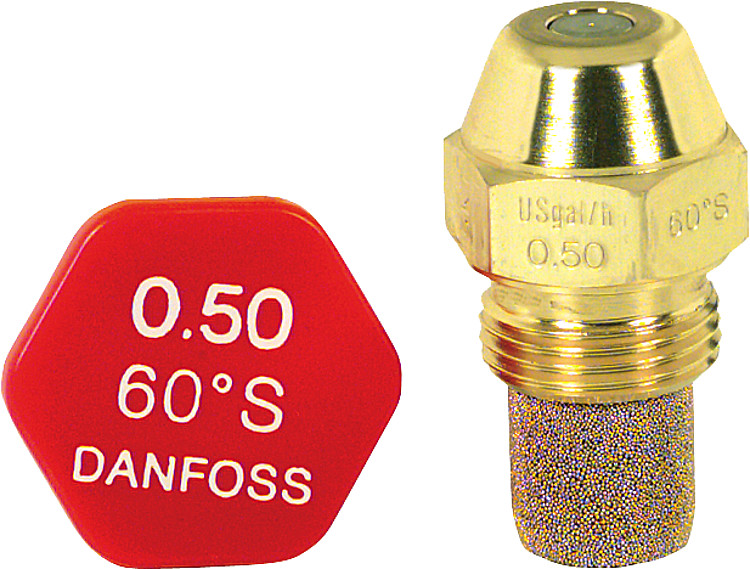 Brennerdüse Steinen 0,65//60°H Hohlkegel Düsenwechsel reduziert den Ölverbrauch