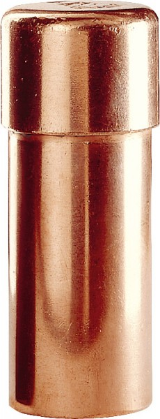 Kupfer Pressfitting Verschlusskappe D:15mm Typ 7301