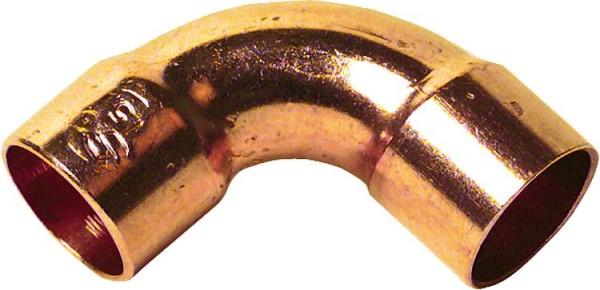 10 Stück Kupfer Lötfitting Reduzierstück 22x15 Löt Fitting Absatznippel 5243