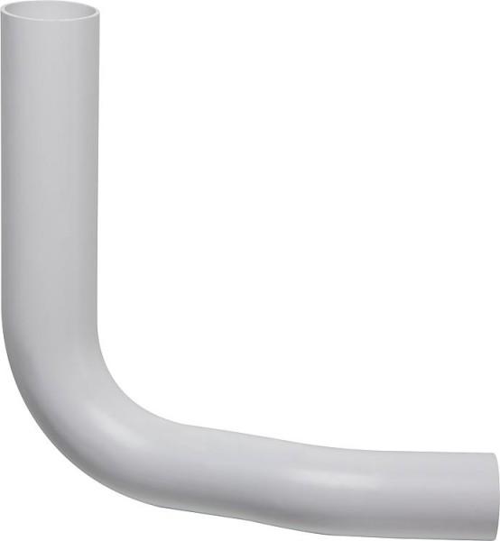 Spülrohrbogen weiß, d =50 x 44mm mit Versatz 80mm rechts versetzt 90°