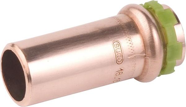 Kupfer Pressfitting Reduzierstück 22x15mm Typ P5243, a/i