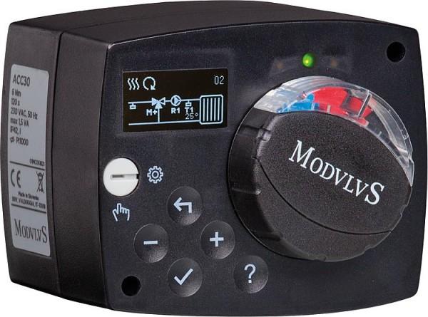 Festwertstellmotor ACC30 Easyflow 230V/50HZ, Einstell- bereich 10-95 C