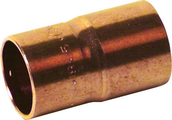 Kupferlötfittings 5243 Absatznippel 18 x 15 mm