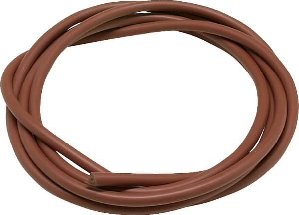 Zubehörteile für Zündtrafos Silicon-Zündkabel rot7 mm dm flexible Qualität 1 Met