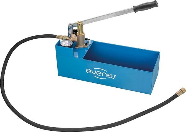 Evenes Druckprüfpumpe für Wasser Glycol, Druckbereich bis 60 bar