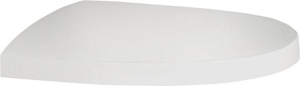 WC-Sitz KAPPA mit Softclose, aus Thermo- plast, Weiß