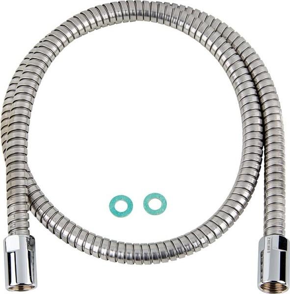 Kunststoffsifon weiß, flexibel DN40 (1 1/2), Drm: 40-50mm
