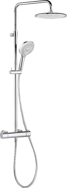 Brausesystem Kludi Freshline verchromt,mit Thermostat,höhen- verstellb.950-1250