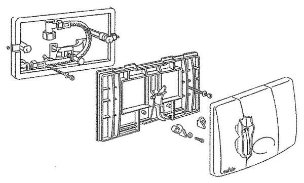 Druckminderer D06F-3/4 LFA mit Gewindetüllen