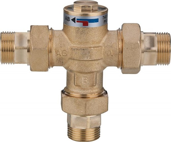"Ladeventil Easyflow Wood Typ 749 60°C DN25 1"" AG"