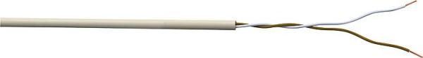 Klingelschlauchleitung YR 4 x 0,8 qmm Rolle a 100 Meter