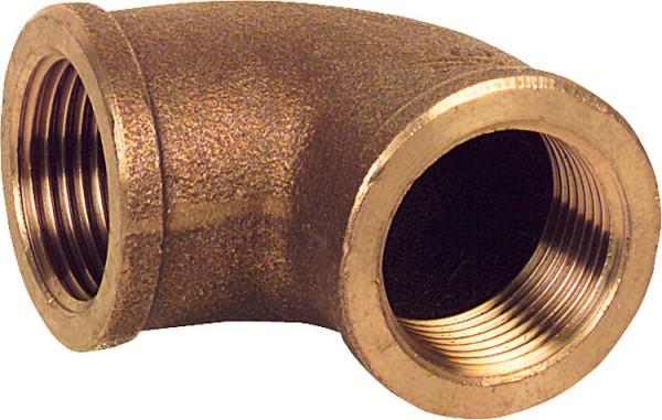 Rotguß-Gewindefitting Winkel 90 Typ 30903/8 ixi