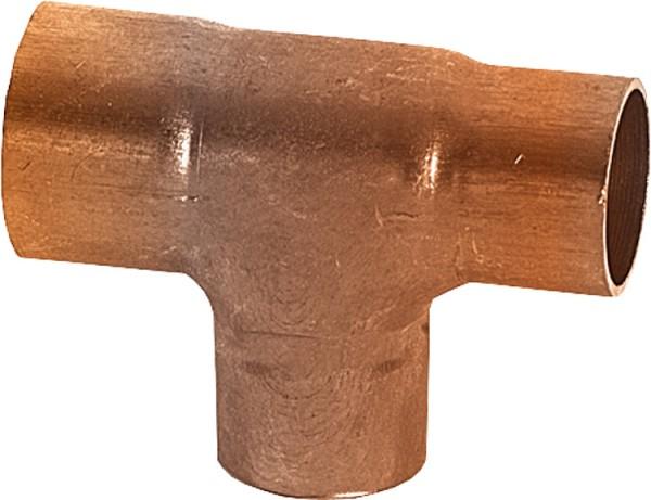 Kupferlötfittings 5130 T-Stück mehrfachreduziert 15 x 18 x 15