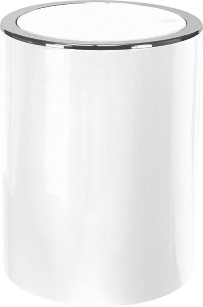 LED-Kosmetikspiegel mit Gelenk, ENIAN Schneeweiß, mit Sauger 5-fach-Vergrößerung